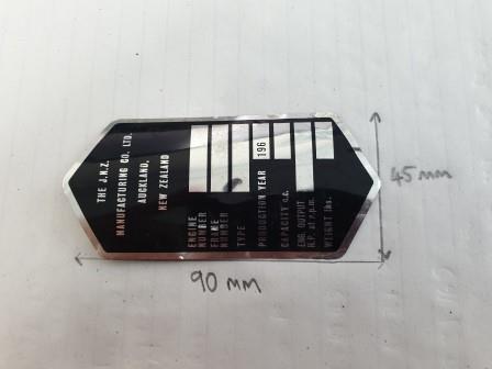 JNZ Manufacturing foil Labels